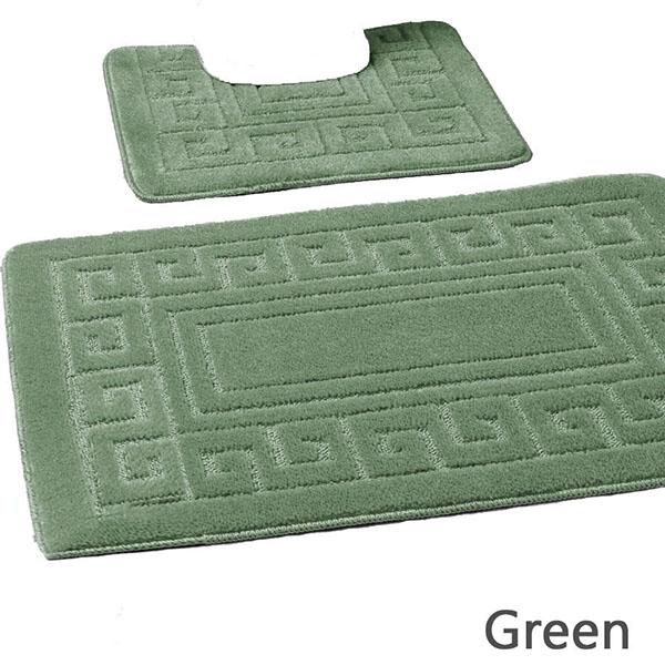 Greek Bath Mats De Lavish : Green from www.delavish.co.uk size 600 x 600 jpeg 102kB