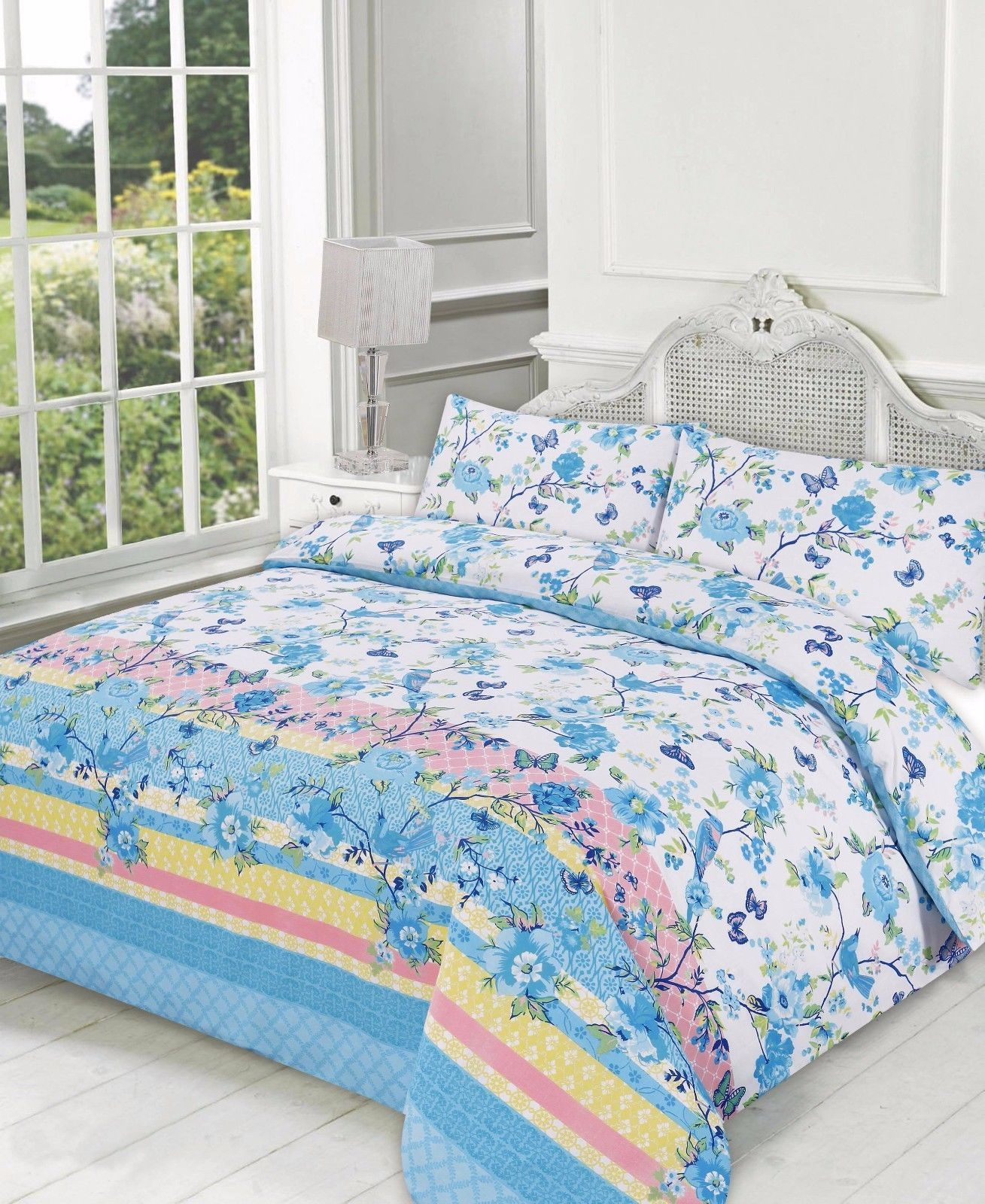 printed cover quilt lucy duvet linens teal product bedding range set