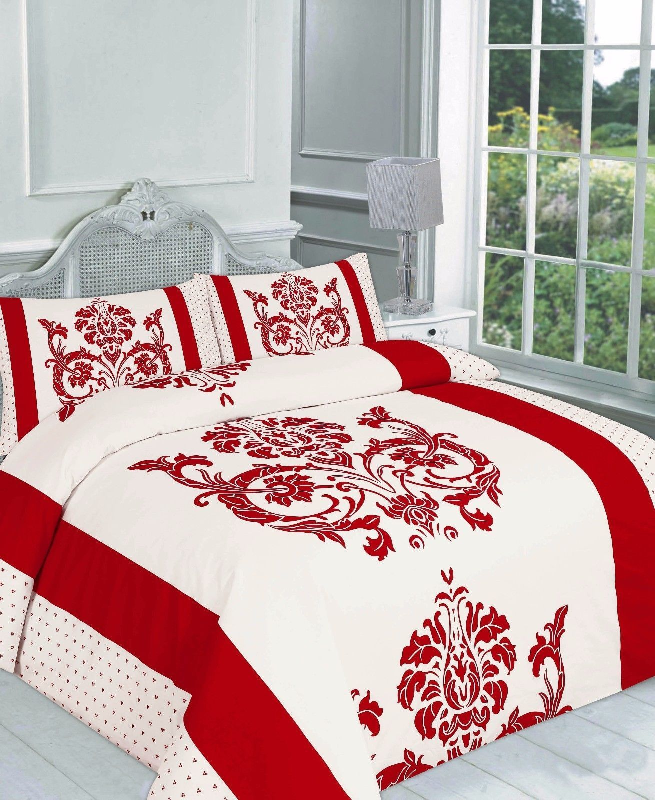 single red football goal duvet cover bugs set little