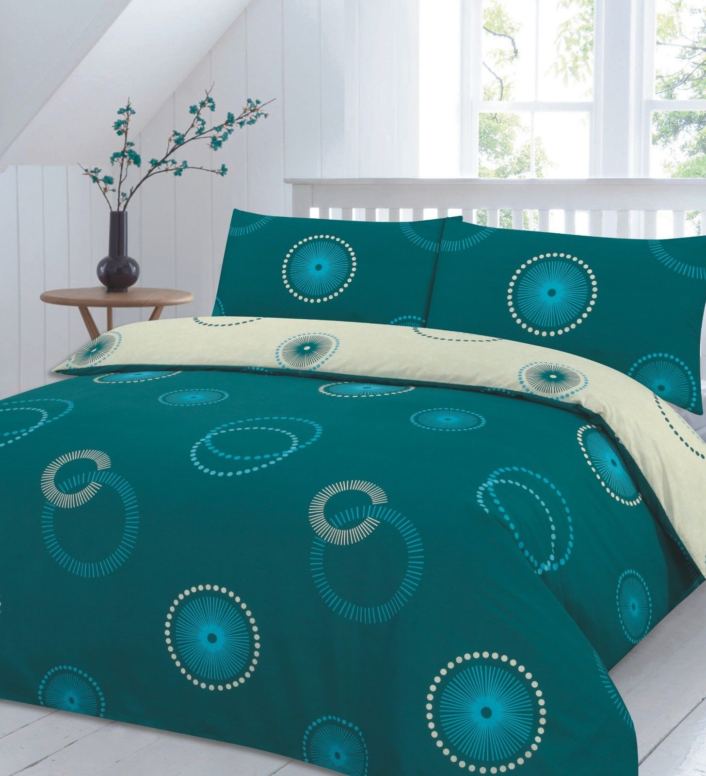duvet cotton flat count teal pillowcases sheet with thread egyptian cover
