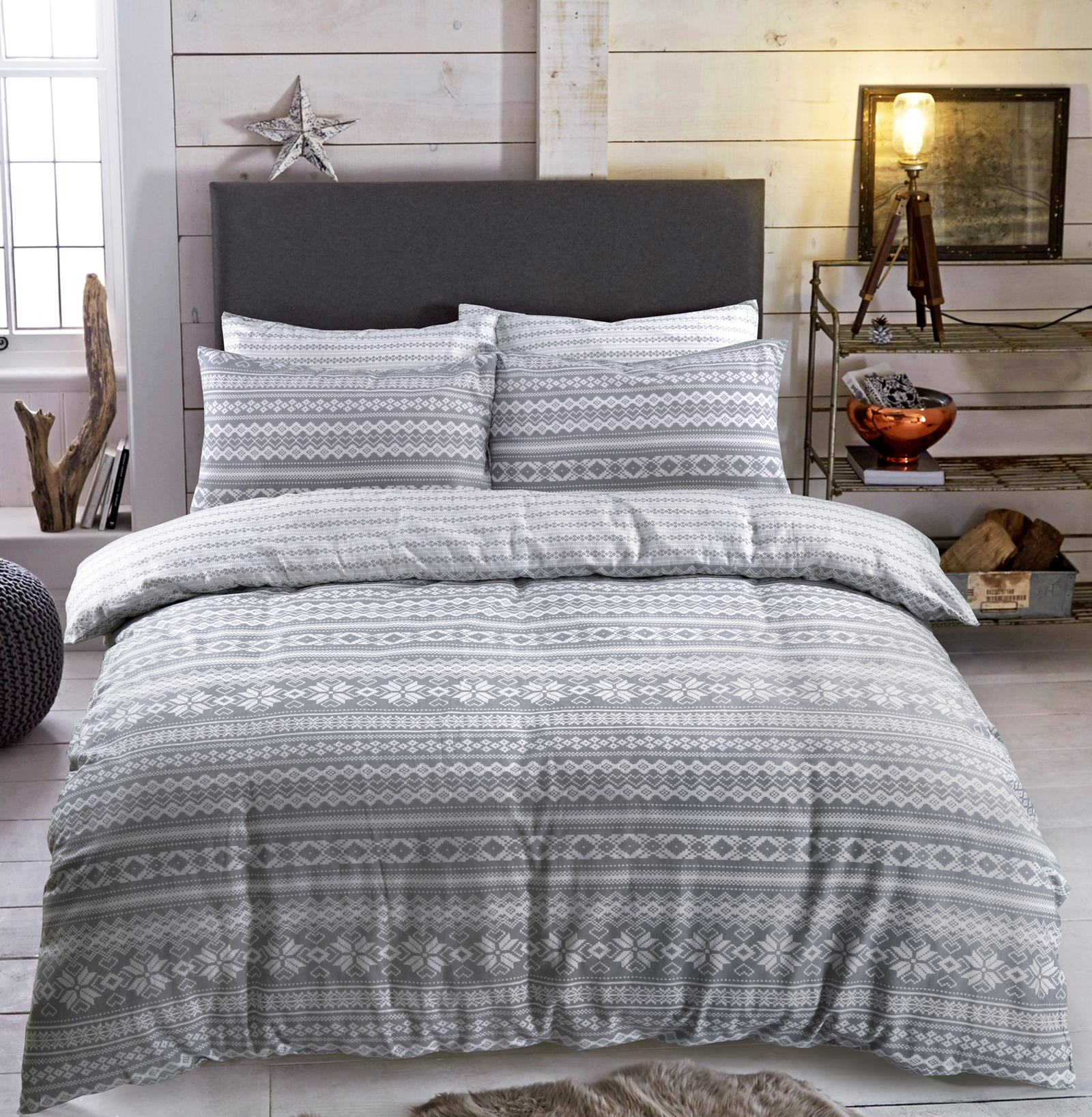 Fairisle Duvet Cover Set Wholesale Bedding Store De Lavish