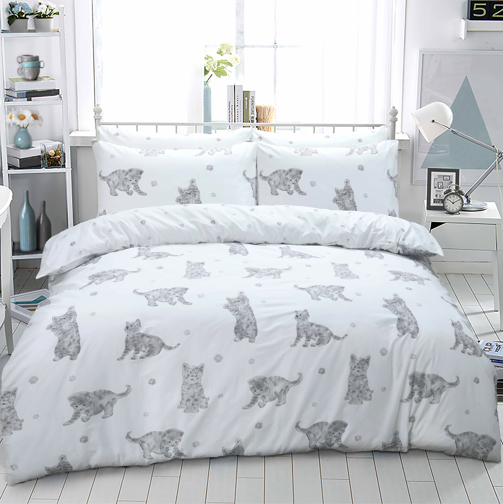 Cat Duvet Cover Set Wholesale Bedding Store De Lavish