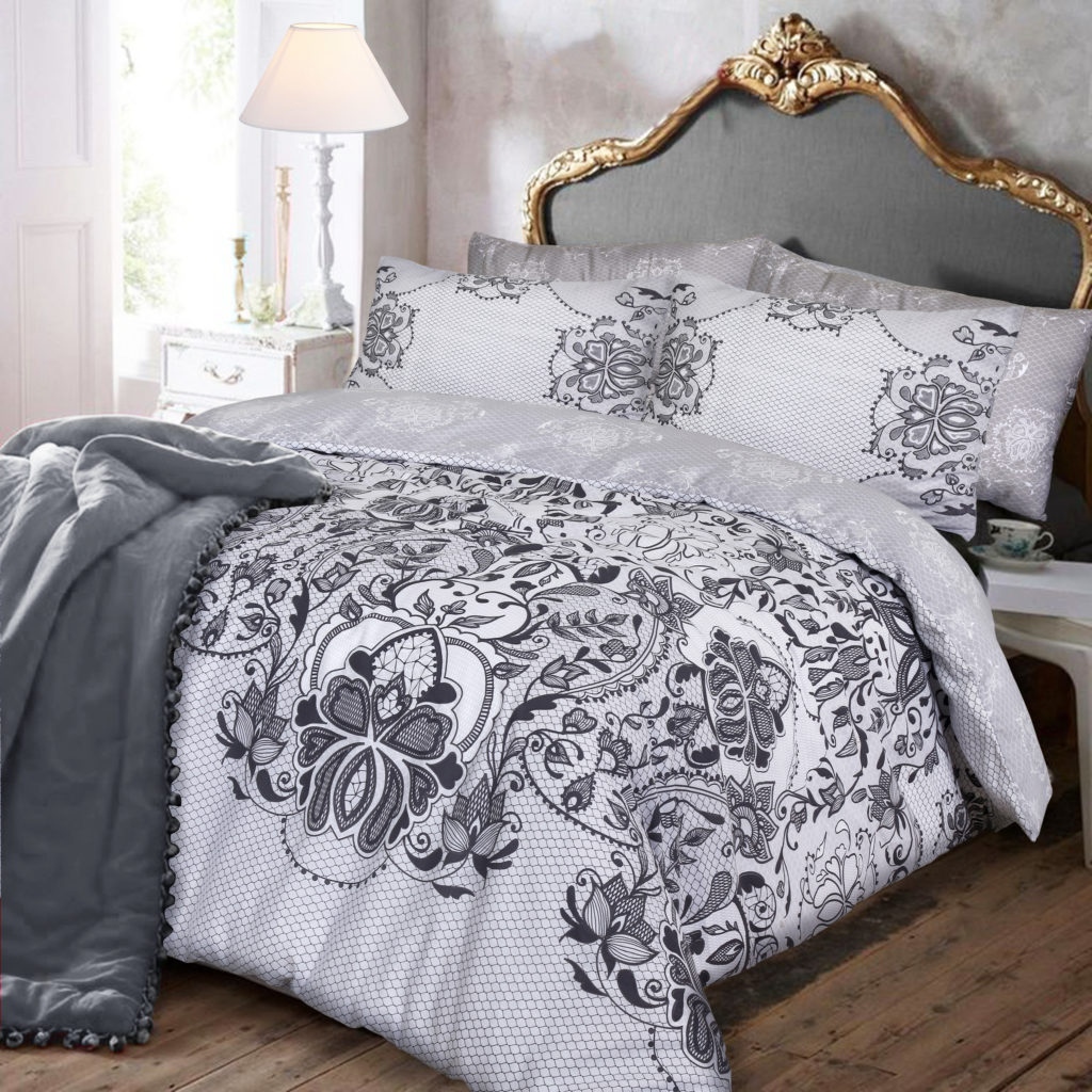 Lace Print Duvet Cover Set Wholesale Bedding Store De