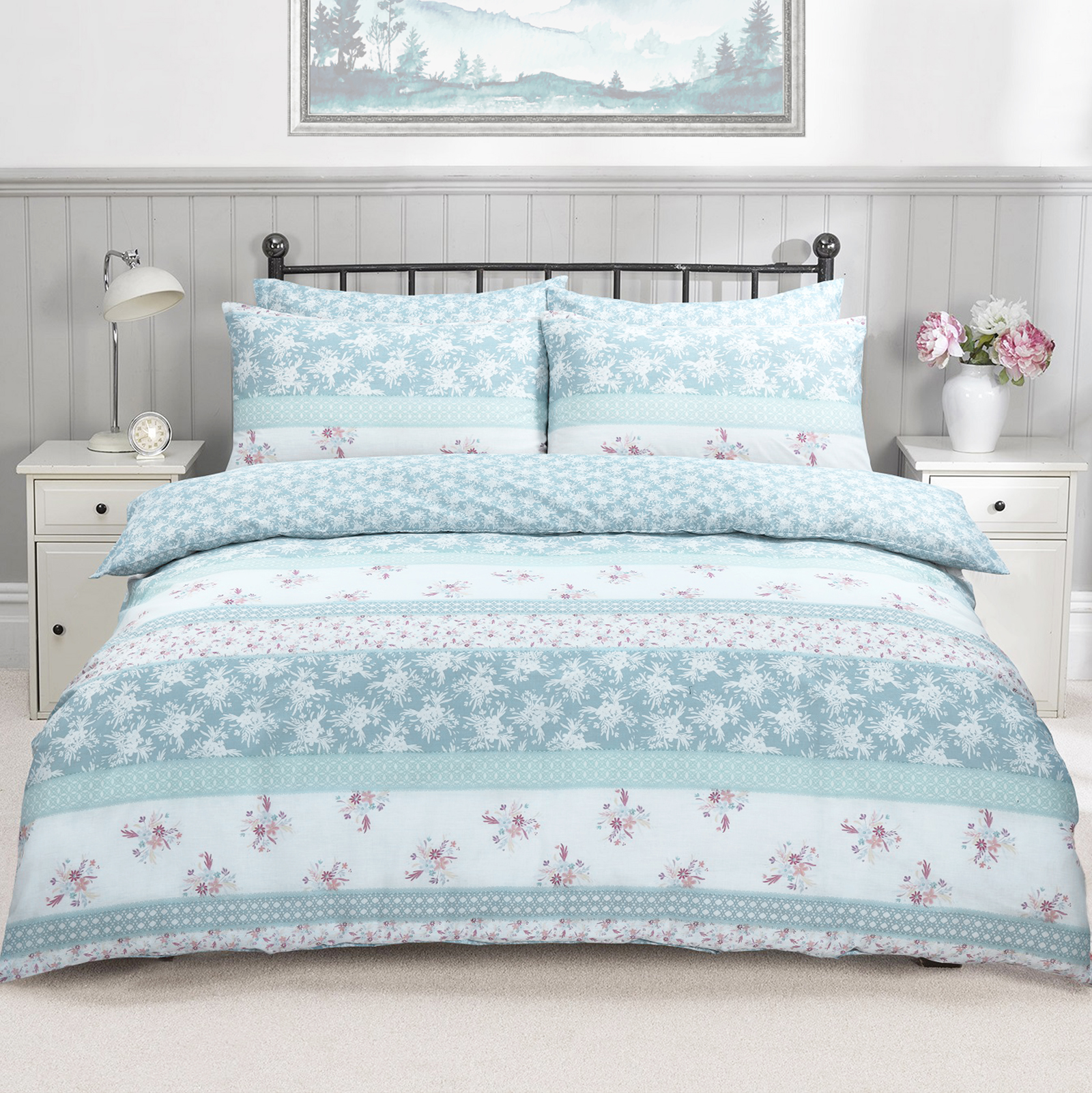 Patchwork Floral Duvet Cover Set Wholesale Bedding