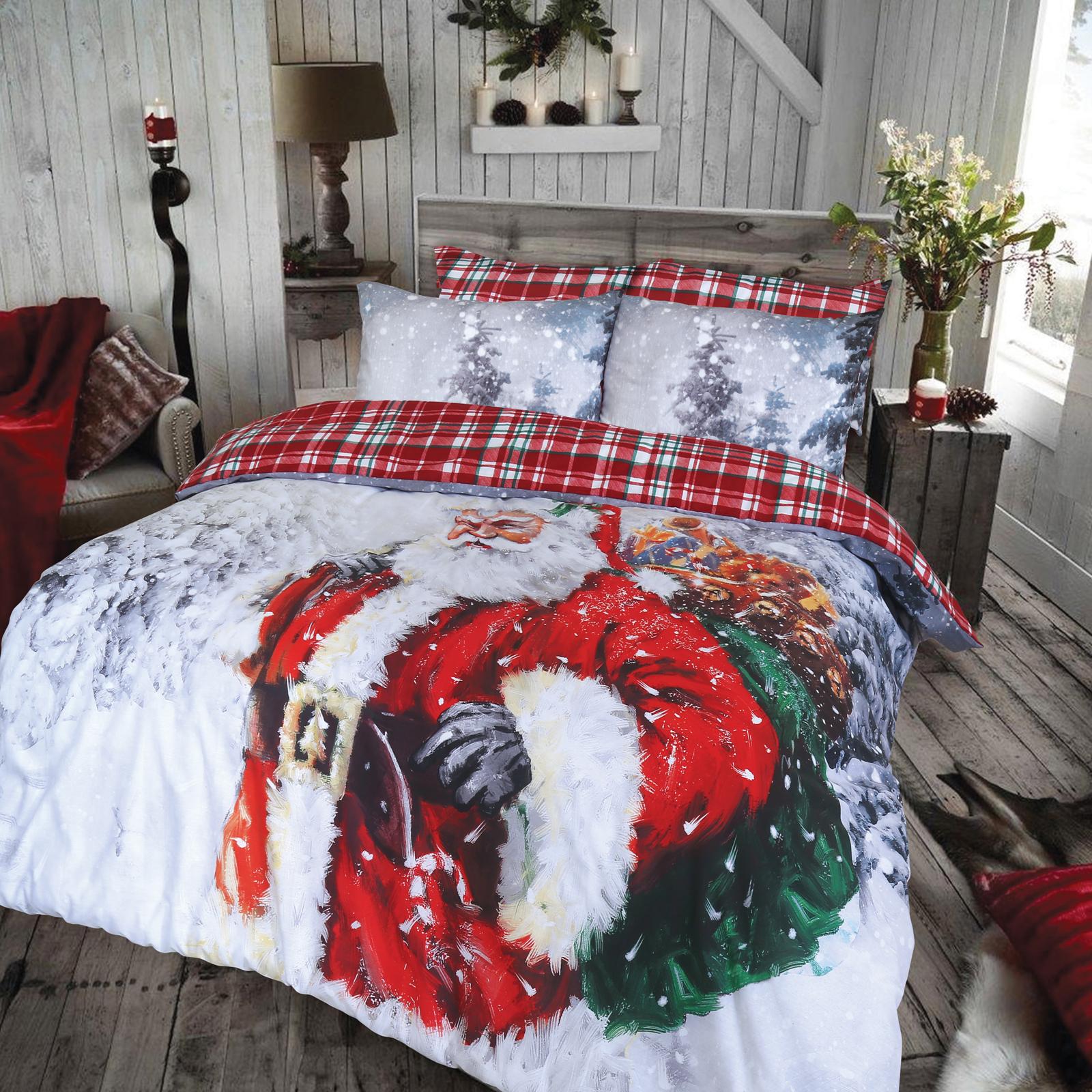 christmas bed sheets uk