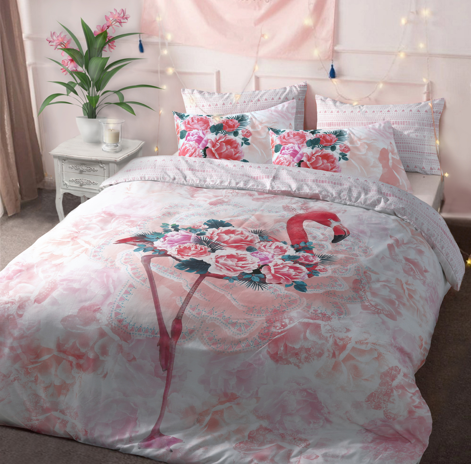 Flamingo Duvet Cover Set Wholesale Bedding Store De Lavish