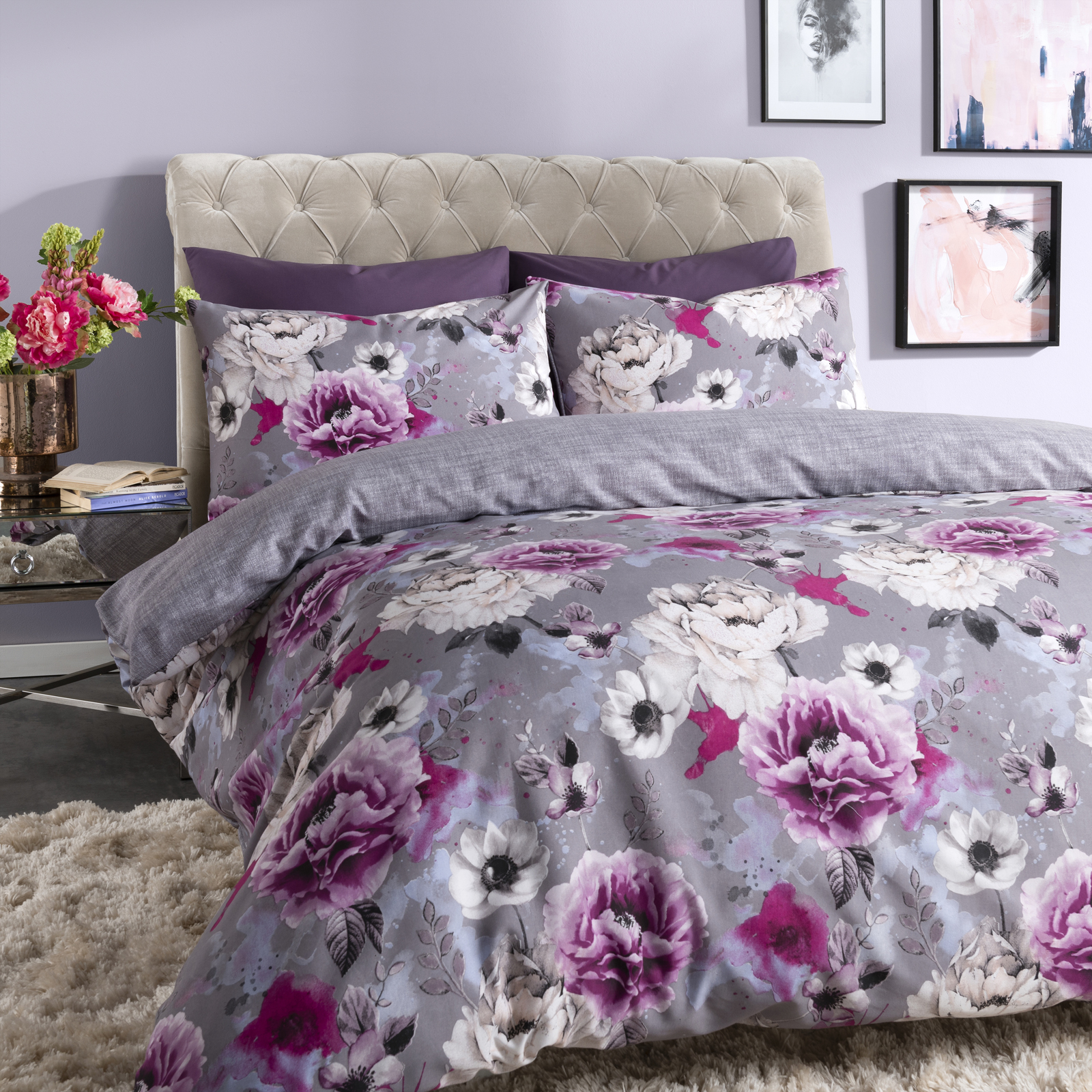 flat sheet item king bedding floral sets egyptian duvet cover size set queen cotton