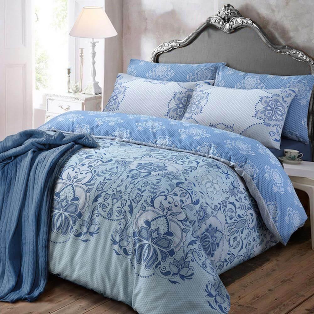 Lace Print Duvet Cover Set Wholesale Bedding Store De