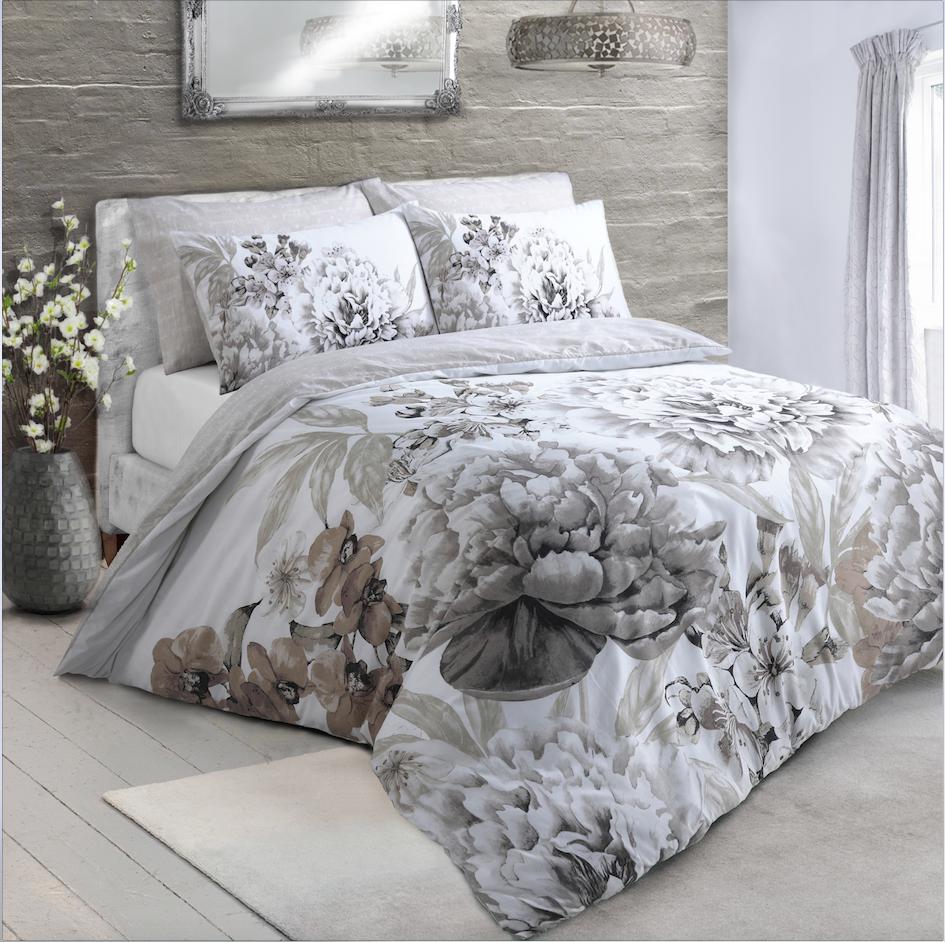 Large Floral Bloom Duvet Cover Set Wholesale Bedding