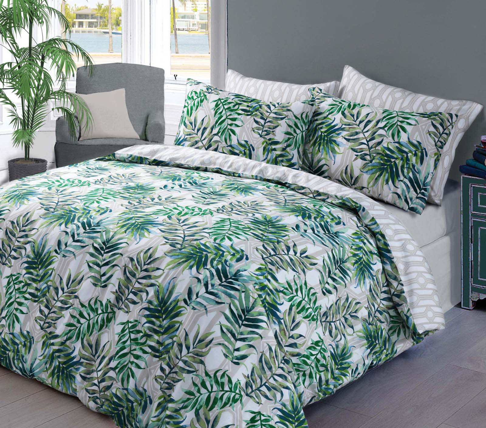 Palm Leaf Duvet Cover Set Wholesale Bedding Store De