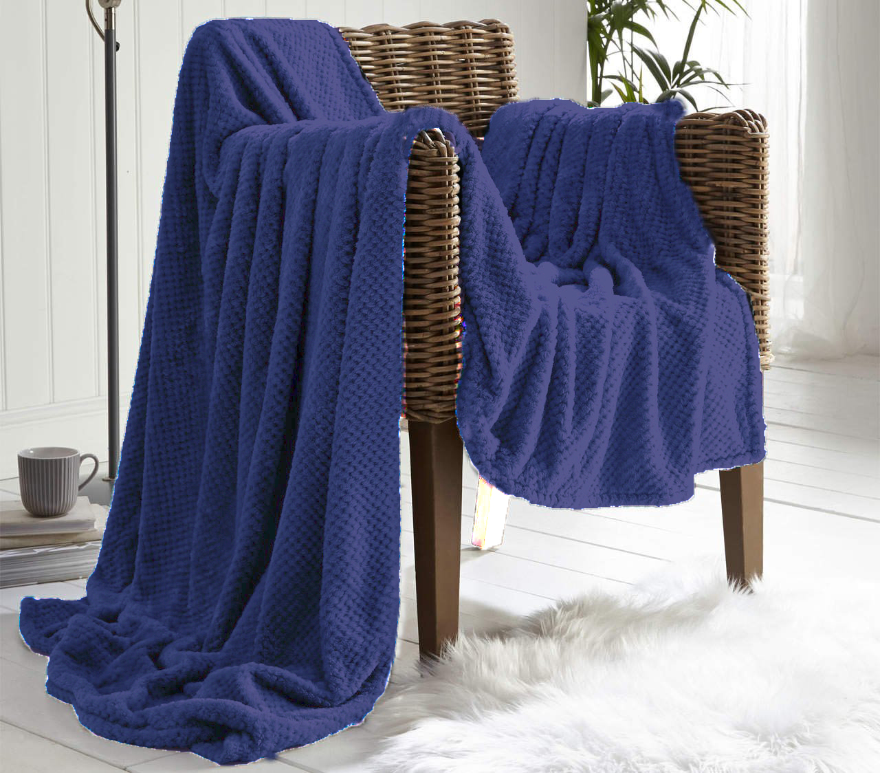 Waffle Throws And Blankets For Your Comfort De Lavish