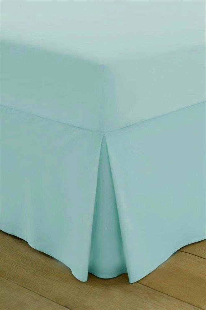 200 Thread Count Egyptian Cotton Box Pleated Valance Sheet
