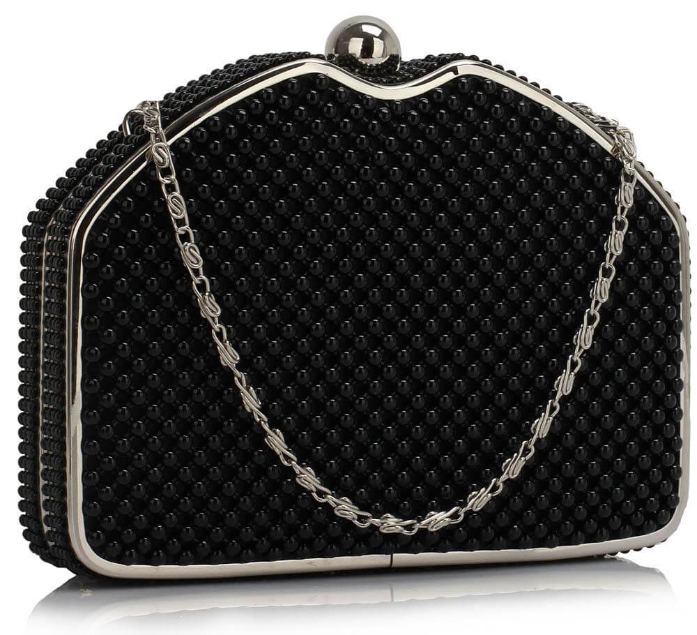1acc5fd955c Beaded Clutch Evening Bag pearl rhinestone clutch bag