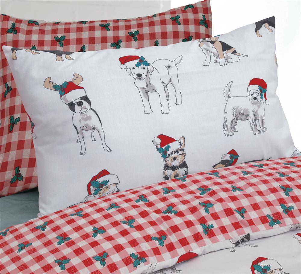 christmas dog bed sheets