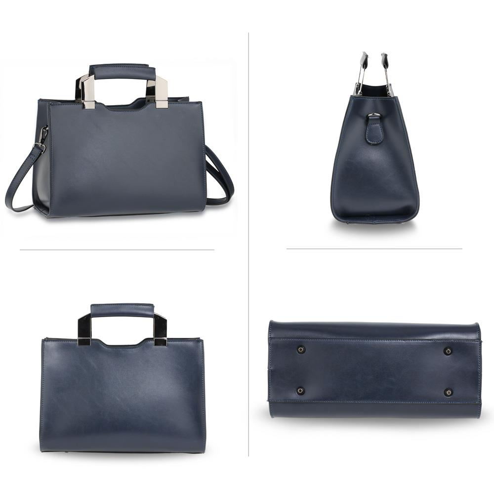 1ddcc545deb Navy Leather Tote Bags Uk